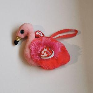 🧞♂️ 3 for $25 💘 Gilda TY Flamingo Purse